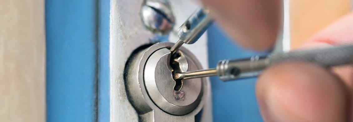 Schlüssel steckt von innen